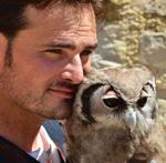 Marco Di Penta, fauconnier professionnel